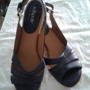 Softspot Navy Sandals
